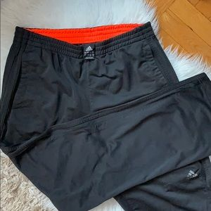 Adidas Black Athletic Pants Size L